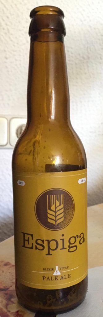 cerveza artesanal espiga pale ale