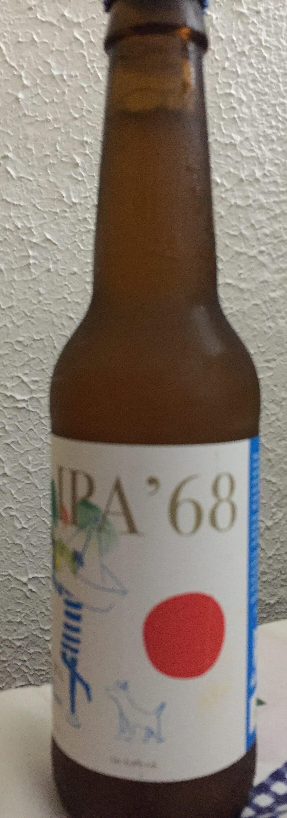 cerveza artesanal ipa 68