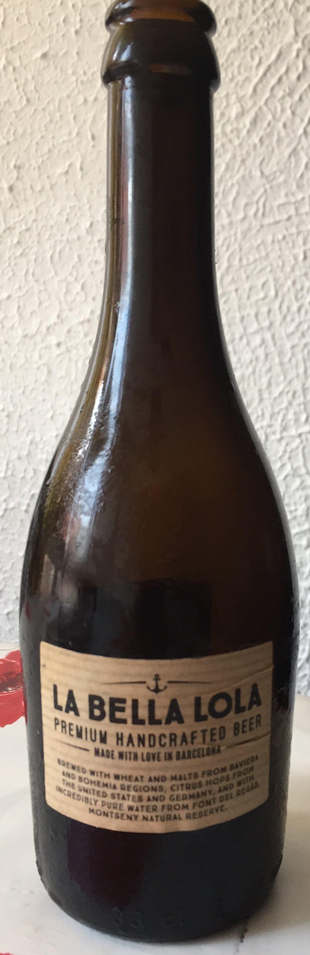cerveza artesanal la bella lola