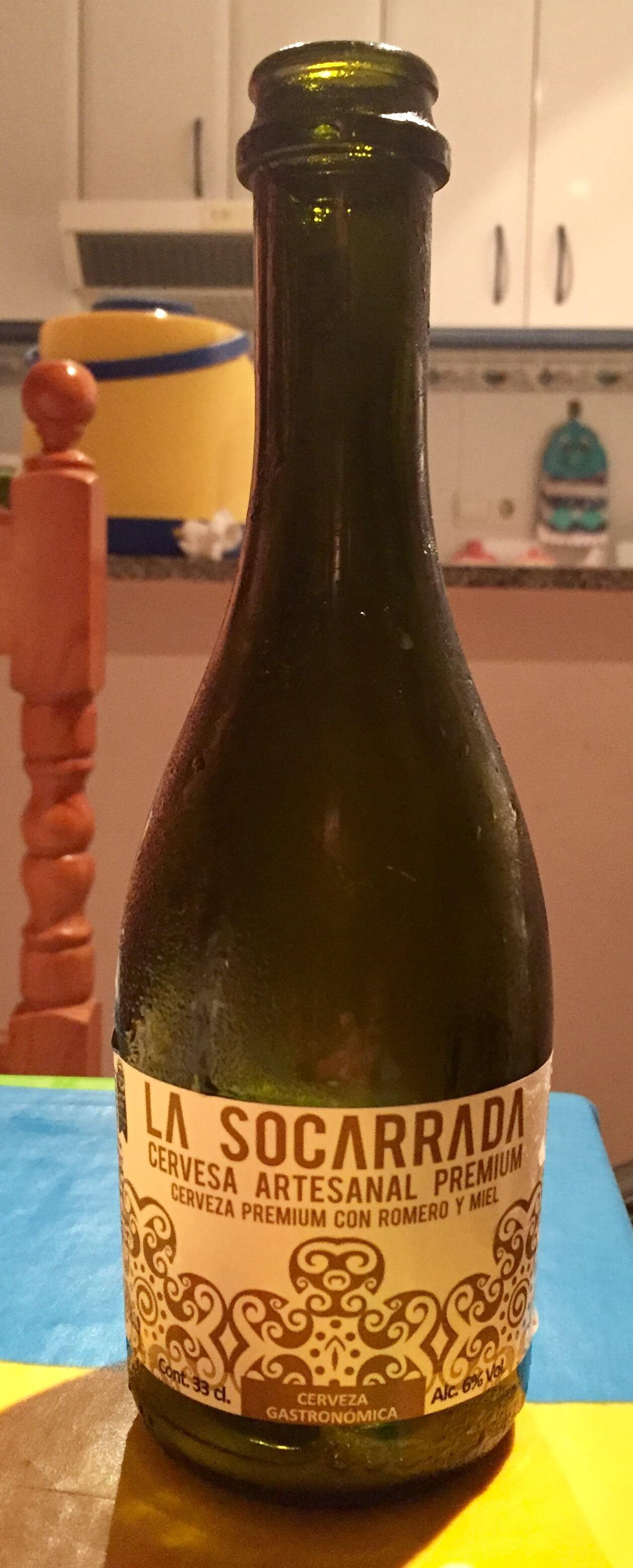 cerveza artesanal la socarrada-premium romero miel