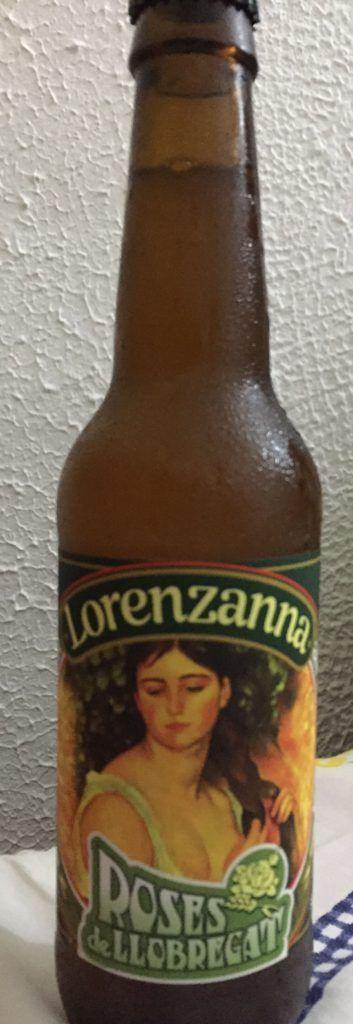 cerveza artesanal lorenzanna