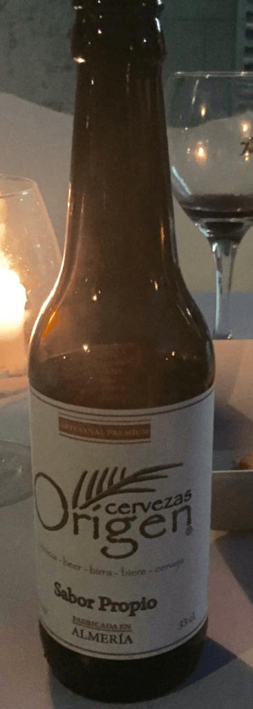 cerveza artesanal origen almeria