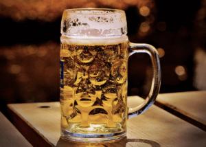 cerveza artesanal rubia