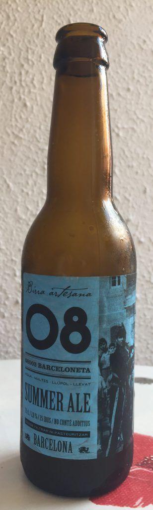 cerveza artesanal summer ale