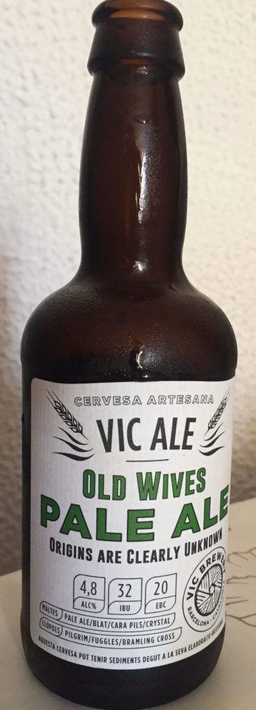 cerveza artesanal vic ale old wives pale ale