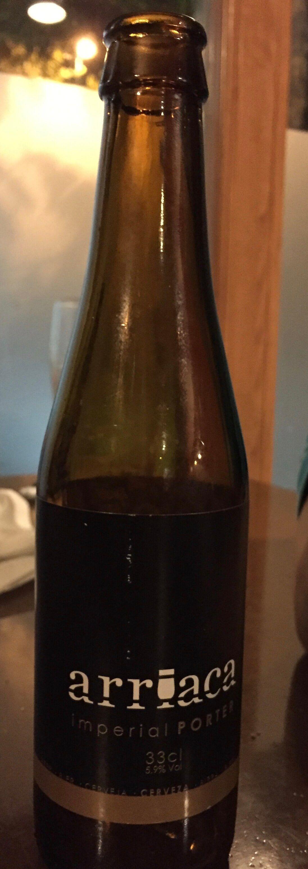 craft beer arriaca