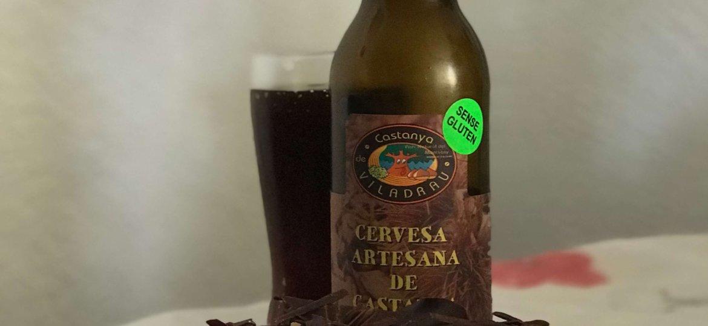maridaje cervesa artesana castanya viladrau