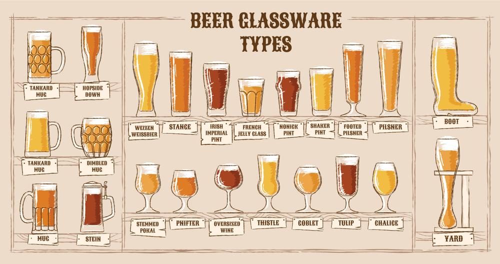vasos jarras cerveza