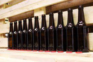 botellas cerveza foto