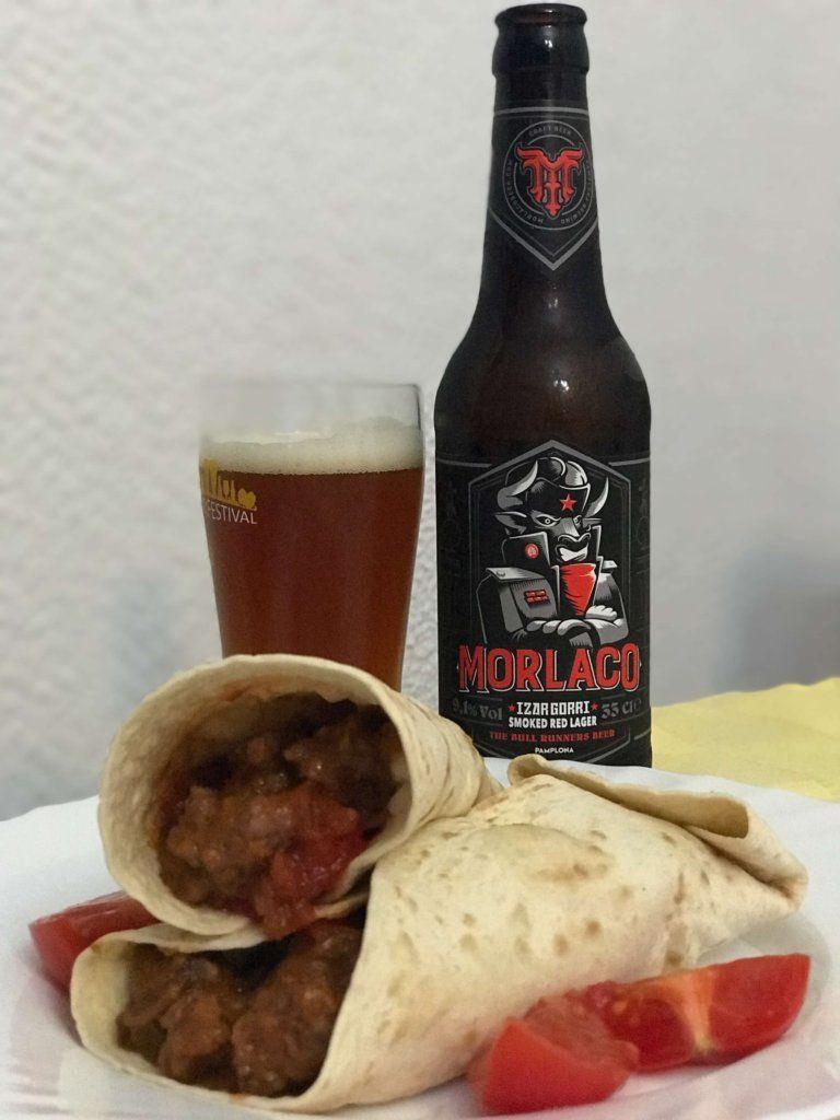 maridaje izar gorri comida mexicana